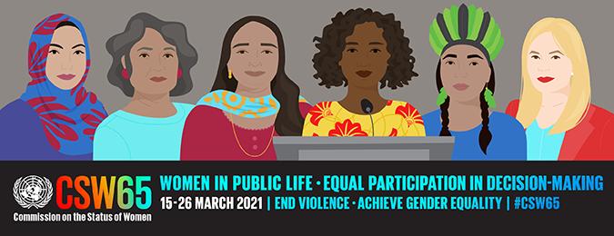 Anmeldelink Zur 65. Konferenz Der Frauenrechtskommission Der UN (CSW 65)