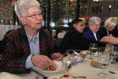 Info-Diner with F. Vaughan, C. Paramundayi & M. Hornung
